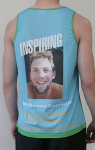 Orlando Rogers Foundation Running Vest - Back