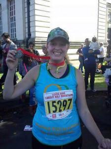 Gemma Trodd - Cardiff Half Marathon