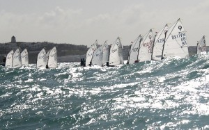 Optimist race 2