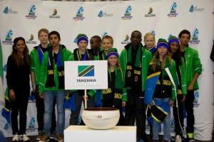 Tanzania Optimist team 2